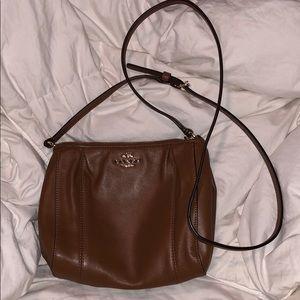 Authentic Coach Cognac Brown purse